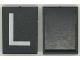 Part No: Mx1043pb11  Name: Modulex Tile 3 x 4 with White 'L' Pattern