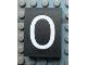 Part No: Mx1043pb27  Name: Modulex Tile 3 x 4 with White '0' Pattern