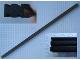 Part No: MxChannel2  Name: Modulex Channel Aluminium for Sliding Baseplates (50 Stud length)
