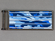 Part No: 30292pb003  Name: Flag 7 x 3 with Rod with Discovery Solar Array Pattern (Sticker)