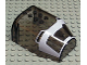 Part No: 30485pb02  Name: Windscreen 8 x 6 x 3 Curved Top Angled Canopy with Life on Mars Pattern