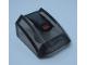 Part No: 30602pb104  Name: Slope, Curved 2 x 2 Lip with Black, Dark Bluish Gray and Orange Pattern (Sticker) - Set 75892