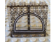 Part No: 4215bpb28  Name: Panel 1 x 4 x 3 - Hollow Studs with Arched Window and 'OTTO OCTAVIUS' Pattern (Sticker) - Set 4857
