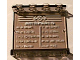 Part No: 4215bpb44  Name: Panel 1 x 4 x 3 - Hollow Studs with Schedule and 'ARRIVALS' Pattern on Inside (Sticker) - Set 4513