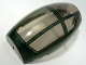 Part No: 50986pb002  Name: Windscreen 10 x 6 x 3 Bubble Canopy Double Tapered with Dark Green Cockpit Cover Pattern