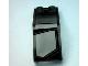 Part No: 6070pb007L  Name: Windscreen 5 x 2 x 1 2/3 with Transparent Panel Pattern Model Left (Sticker) - Set 7888