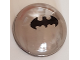 Part No: 86500pb05  Name: Cylinder Hemisphere 4 x 4 with Batman Logo Pattern