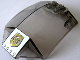 Part No: x224pb007  Name: Windscreen 8 x 6 x 2 Curved with World City Gold Police Badge Pattern (Sticker) - Set 7031