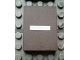 Part No: Mx1043pb37  Name: Modulex Tile 3 x 4 with White '-' Pattern