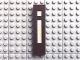 Part No: Mx1082pb23  Name: Modulex Tile 2 x 8 with White 'i' Pattern