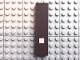 Part No: Mx1082pb25  Name: Modulex Tile 2 x 8 with White '.' Pattern