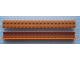 Part No: Mx1613  Name: Modulex Channel Sliding, Top Slide 2 x 20 (with studs)