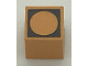 Part No: Mx1011Apb65  Name: Modulex Tile 1 x 1 with Black Circle Outline Pattern