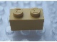 Part No: Mx1121M  Name: Modulex, Brick 1 x 2 (M on studs)