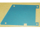 Part No: bb0133a  Name: Plastic Mars Rover Solar Panel, Front Quadrilateral