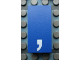 Part No: Mx1042pb02  Name: Modulex, Tile 2 x 4 with White ',' Pattern