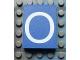 Part No: Mx1043pb13  Name: Modulex Tile 3 x 4 with White 'O' Pattern