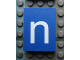 Part No: Mx1043pb46  Name: Modulex, Tile 3 x 4 with White 'n' Pattern