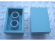 Part No: Mx1032B  Name: Modulex Tile 2 x 3 (with Internal Supports)