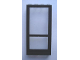 Part No: Mx1548pb03  Name: Modulex Door Panel 1 x 4 x 8 with Black Pattern