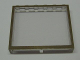 Part No: Mx1565pb04  Name: Modulex Window 1 x 6 x 5 with Brown Border Pattern