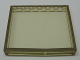 Part No: Mx1576pb04  Name: Modulex Window 1 x 7 x 6 with Brown Border Pattern