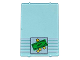 Part No: 2494pb03  Name: Glass for Window 1 x 4 x 5 with Bank Money 4 Coins Pattern