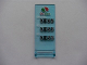 Part No: 30292pb007  Name: Flag 7 x 3 with Rod with Octan Logo and Pricelist Pattern (Sticker) - Set 7993