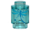 Part No: 3062bpb058  Name: Brick, Round 1 x 1 Open Stud with Blue Dragonfly Pattern