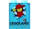 Part No: 4066pb360  Name: Duplo, Brick 1 x 2 x 2 with LEGOLAND California Resort Pattern