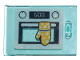 Part No: 4533pb022  Name: Container, Cupboard 2 x 3 x 2 Door with Oven and Glove Pattern (Sticker) - Set 41401