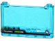 Part No: 64453pb009  Name: Windscreen 1 x 6 x 3 with 'ULTRA INTEL' and Ultra Agents Logo Pattern (Sticker) - Set 70173