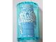 Part No: 85941pb011  Name: Cylinder Half 2 x 4 x 5 with 1 x 2 Cutout with Frozen Jasper Beardley Pattern (Sticker) - Set 71016