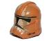 Part No: 11217pb12  Name: Minifigure, Headgear Helmet SW Clone Trooper with Tan and Dark Tan Camouflage Pattern