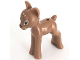 Part No: 13393pb01  Name: Deer, Friends, Fawn with Black Nose, Medium Azure Eyes and Tan Spots Pattern