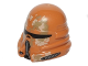 Part No: 15308pb02  Name: Minifigure, Headgear Helmet SW Airborne Clone Trooper with Tan and Dark Tan Camouflage Pattern