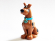 Part No: 20690pb01c02  Name: Dog, Great Dane Scooby-Doo Sitting with Chattering Teeth Pattern (20690pb01 / 20691pb03)