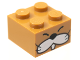 Part No: 3003pb119  Name: Brick 2 x 2 with Face, Whiskers and Tooth Pattern (Monty Mole)