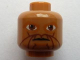 Part No: 3626bpb0625  Name: Minifigure, Head Alien with SW Eeth Koth Pattern - Blocked Open Stud
