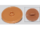 Part No: 91884  Name: Minifigure, Shield Round with Stud and Ring Around Edge