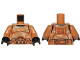 Part No: 973pb1831c01  Name: Torso SW Armor Camouflage Clone Trooper Pattern / Medium Dark Flesh Arms / Black Hands