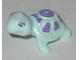Part No: 11603pb03  Name: Turtle, Friends / Elves with Medium Azure Eyes, Dark Azure Jewels, and Dark Purple and Medium Lavender Shell Pattern (Calypso)