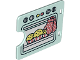 Part No: 27382pb005  Name: Duplo Door / Window with Cutout (Semi Oval) with Cupcakes Baking in Oven Pattern