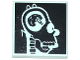 Part No: 3068bpb0926  Name: Tile 2 x 2 with Groove with Simpsons Homer's Head X-Ray Pattern
