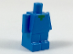 Part No: 35526pb01  Name: Minifigure, Small Body, Green Pixelated Collar Pattern