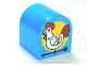 Part No: 3664pb24  Name: Duplo, Brick 2 x 2 x 2 Curved Top with Rooster Weather Vane Pattern