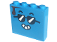 Part No: 49311pb10  Name: Brick 1 x 4 x 3 with Face with Sunglasses Pattern on Both Sides (Stickers) - Set 60253