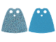 Part No: 522pb006  Name: Minifigure, Cape Cloth, Standard with Iridescent Dots Pattern