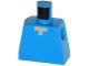 Part No: 973pb1813  Name: Torso Pixelated Light Nougat Neck Pattern (Minecraft Steve)