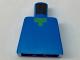 Part No: 973pb1814  Name: Torso Pixelated Green Neck Pattern (Minecraft)